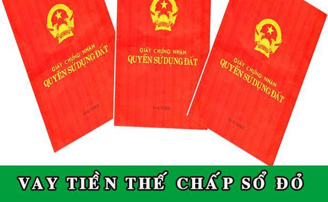 Sổ đỏ được xem là đối tượng thế chấp rất tốt cho các khoản vay.