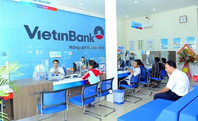 quầy giao dịch tại vietinbank